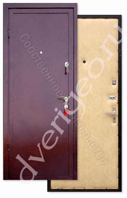 металлические двери покрас винилискожа